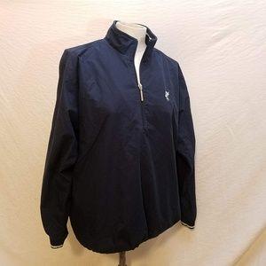 ASHWORTH 1/2 Zippered Golf Jacket/Sweatshirt, S